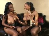 Black Busty Lesbians Screw